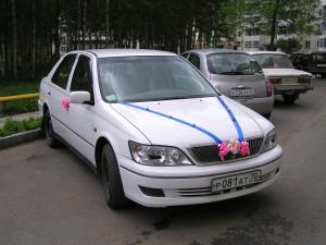 Машина на свадьбе