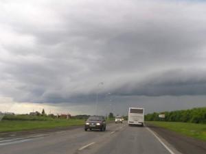Едем в сторону Новокузнецка
