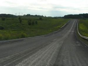 Дорога в Алтайском крае