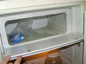 Холодильник Бирюса. Морозилка