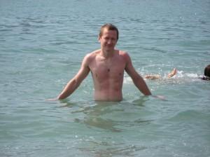 Я купаюсь в Адриатическом море