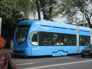 Трамвай нового образца, Загреб