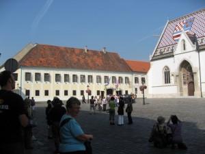 Правительство Хорватии и Церковь Св. Марка