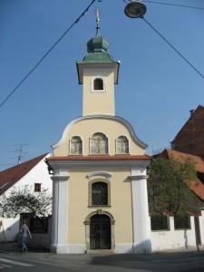 Еще какая-то церковь в Загребе