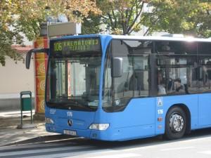 Автобусы в Загребе вот такие