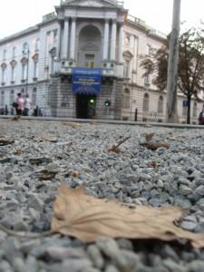Осень в Загребе