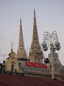 Готические купола кафедрального собора