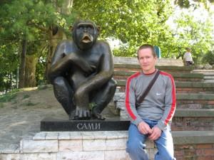 Шимпанзе Сами и хомо сапиенс