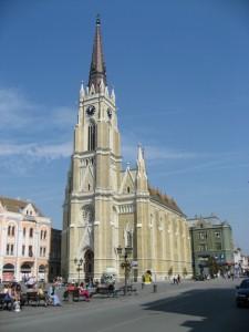 Кафедральный католический собор в готическом стиле, Нови-Сад