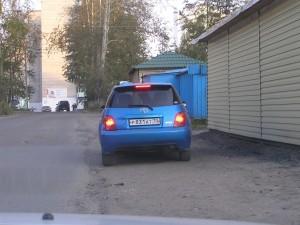 Тойота ист с номером р831ат (на Ласточке)