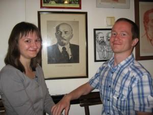 Оля, Ленин и я