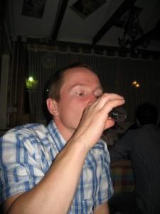 Пью ракию