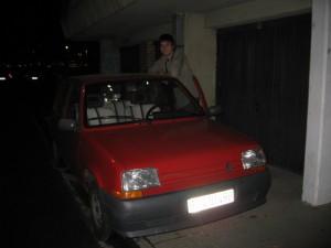 Милан и его машина