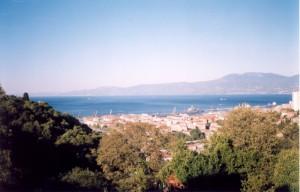 В Риеке (Хорватия). 2001 г.