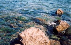 Адриатическое море в Риеке (Хорватия). 2001 г.