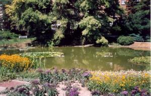 Ботанический сад в Загребе (Хорватия). 2001 г.