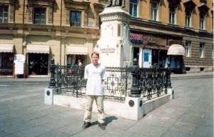 Я в Загребе (Хорватия). 2001 г.