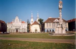Сербская церковь в Тимишоаре (Румыния). 2001 год