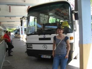 Из Подгорицы до Герцег-Нови мы ехали на этом автобусе