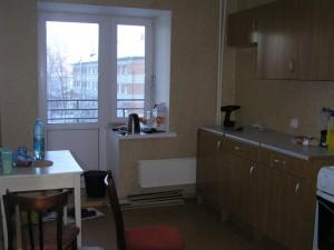Кухня, вид со входа