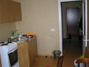 Кухня, вид со стороны балкона