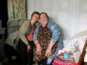 Моя мама и мама т. Тони (в Новых Ключах).