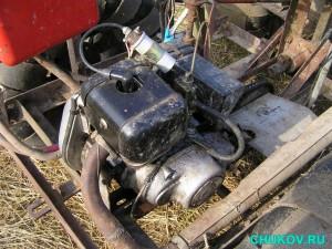 Двигатель болотохода