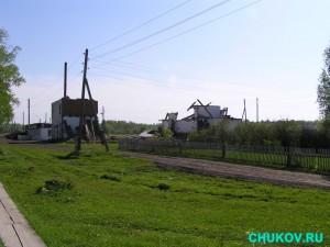 Клуб. В 2008 году представлял собой развалины