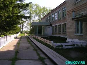 Двор Бундюрской школы