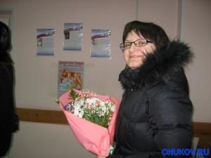 Жена Оля - мама сына