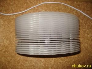 Мойка и увлажнитель воздуха boneco 1355N, диски - вид сверху