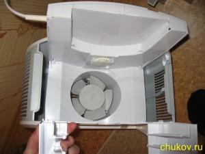 Мойка и увлажнитель воздуха boneco 1355N, вид внутри корпуса