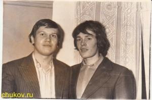 Дядя Вася и дядя Саша (двоюродные братья Чуковы)