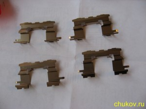 Ремкомплект установочный передних тормозных колодок 04947-20110