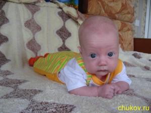 Семён, три месяца