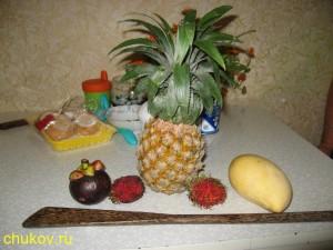 Экзотические фрукты из Таиланда